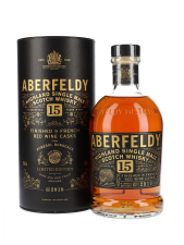 Aberfeldy 15y Limited Edition Red Wine Casks Single malt 70cl 43%