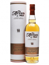 Arran 18yr first edition 70cl  46%