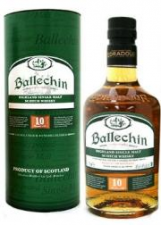 Ballechin 10 jr  Peated Highland Malt 70cl 46%