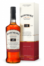 Bowmore 15yr  Islay Single malt  -70cl -43%
