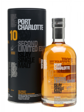 Bruichladdich port Charlotte 10yr second edition  50% 70cl