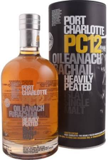 Bruichladdich port Charlotte   PC12  58,7%