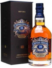 Chivas Regal 18 Year Old  (70cl / 40%)   Blended Scotch Whisky