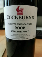 Cockburn`s Vintage 2005 Port   75cl 20%