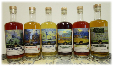 First Cask Range set van 6 flessen a 70cl