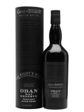 Game of Thrones The Night's Watch Oban Bay Reserve 43% 70cl