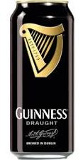 Guinness Irish Stout Draught in bik   50cl  4,2%