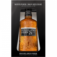 Highland Park  21yr  Single malt  -70cl  -46%