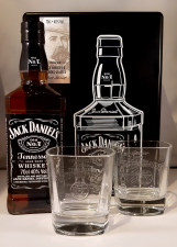 Jack Daniels  Tennessee Whiskey Giftbox 70cl   40%