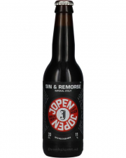 Jopen Sin & Remorse Imperial Stout - Bowmore Barrel Aged 11% 33cl