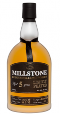 Millstone 5yr Lightly Peated  70cl 40%