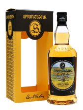 Springbank 16yr Local Barley  70cl  54,3%