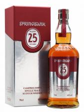 Springbank 25yr  Limited Edition 2021 70cl  46%
