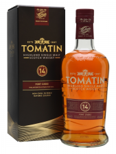 Tomatin 14yr  portwood finish 70cl 46%
