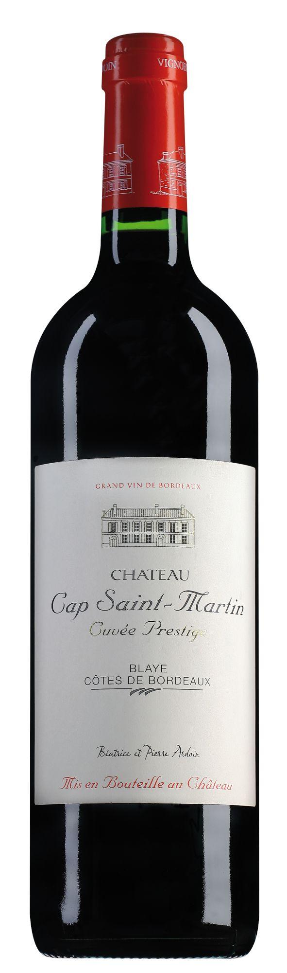 Château Cap Saint-Martin Blaye Côtes de Bordeaux Cuvée Prestige