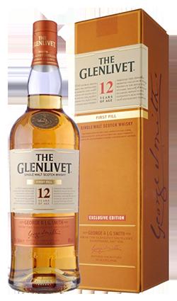 The Glenlivet 12 jr  First Fill Single Malt 40% 70cl