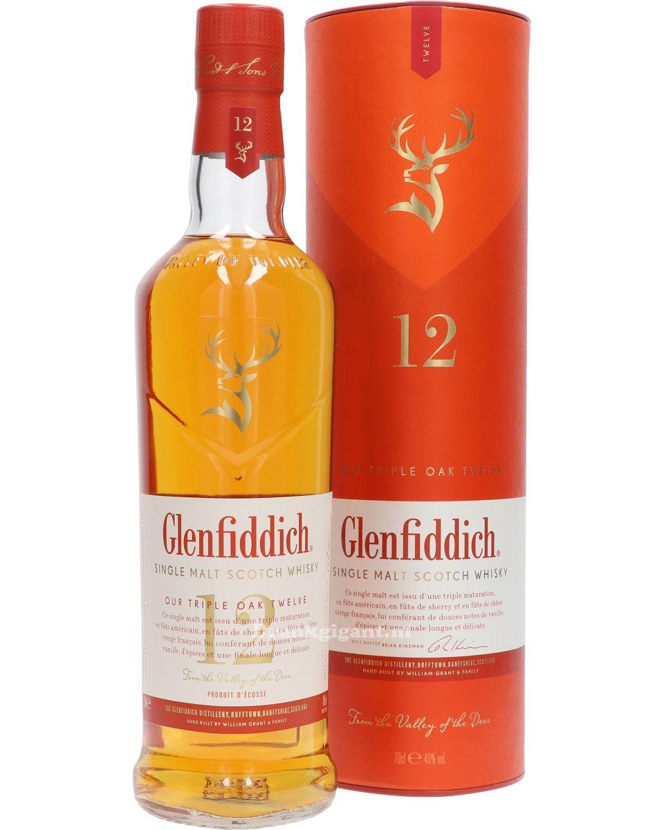 Glenfiddich 12 yr triple Cask  40% 70cl