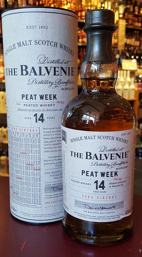 Balvenie Peat Week 48,3% 70cl
