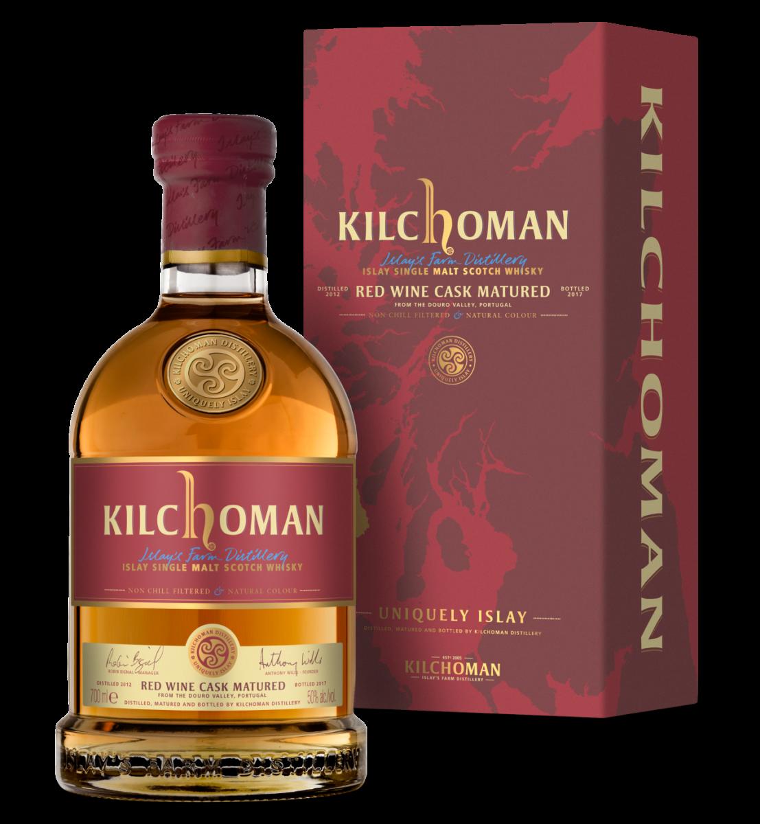 Kilchoman  Red Wine Cask  70cl 50%