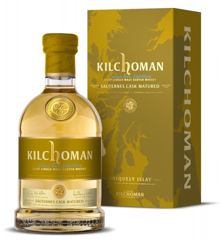 Kilchoman Sauternes Release 2018 edition  50% 70cL