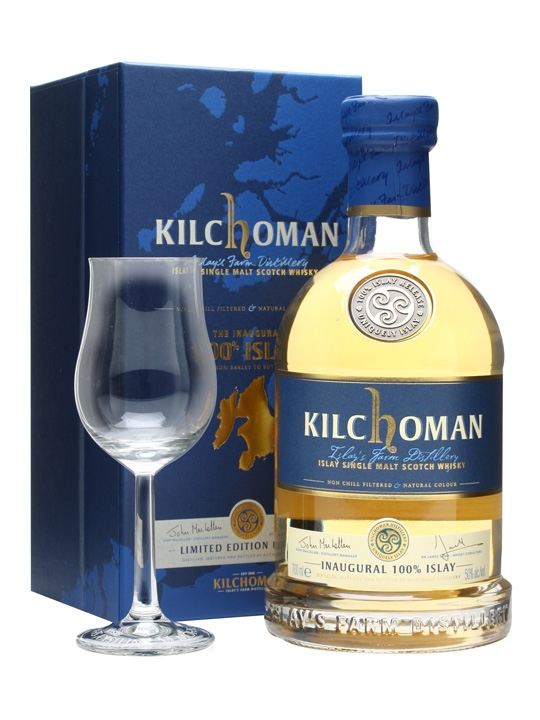 Kilchoman Inaugural 100% Islay limited edition 50%