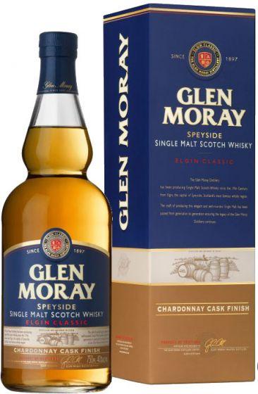 Glen Moray Chardonnay Cask  40% 70cl