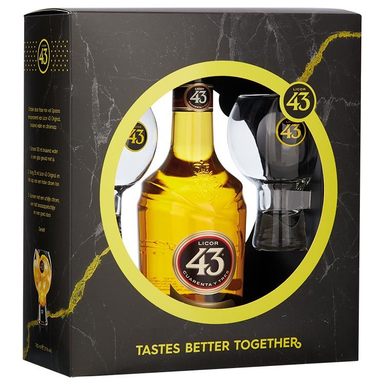 Licor 43 giftset -70cl  -31%