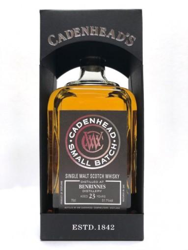 Cadenhead Small Batch Benrinnes  23yr   51.1% 70cl