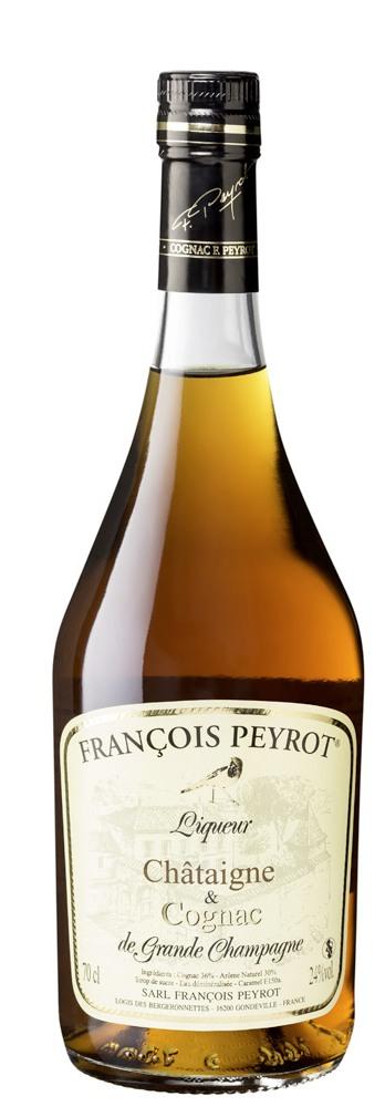 Francois Peyrot Chataigne & Cognac 70cl 24%