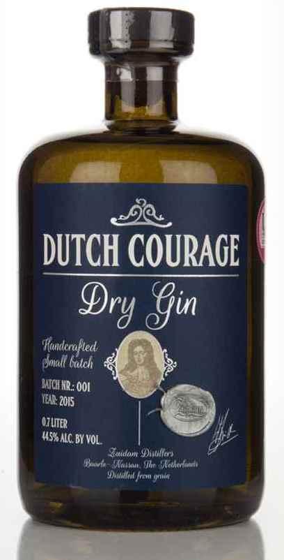 Zuidam Dutch Courage Gin  44,5% Ltr
