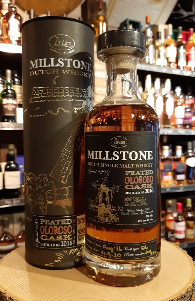 Millstone Peated Oloroso Special 20  70cl 46%