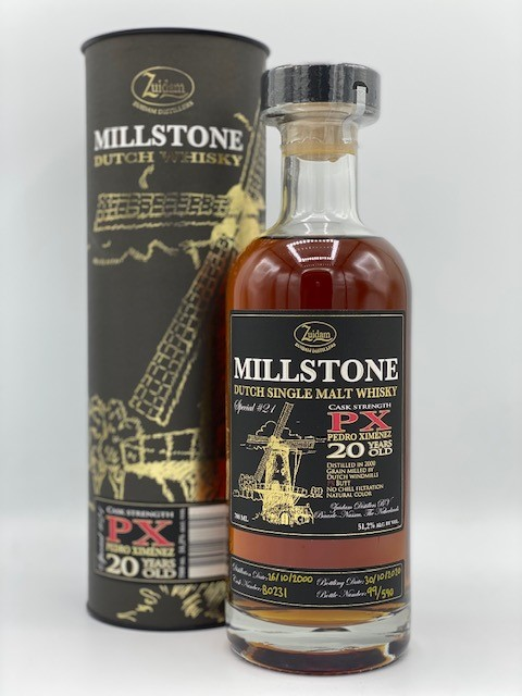 Millstone PX 20y Cask Strenght Special 21 51.2% 70cl