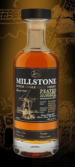 Millstone Peated Moscatel 46% 70cl