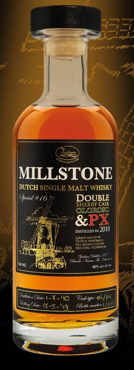 Millstone Special no16 Oloroso en PX Sherry cask finish  70cl 46%