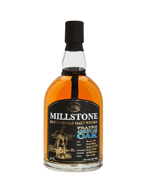 Millstone Peated American Oak  43% 70cl