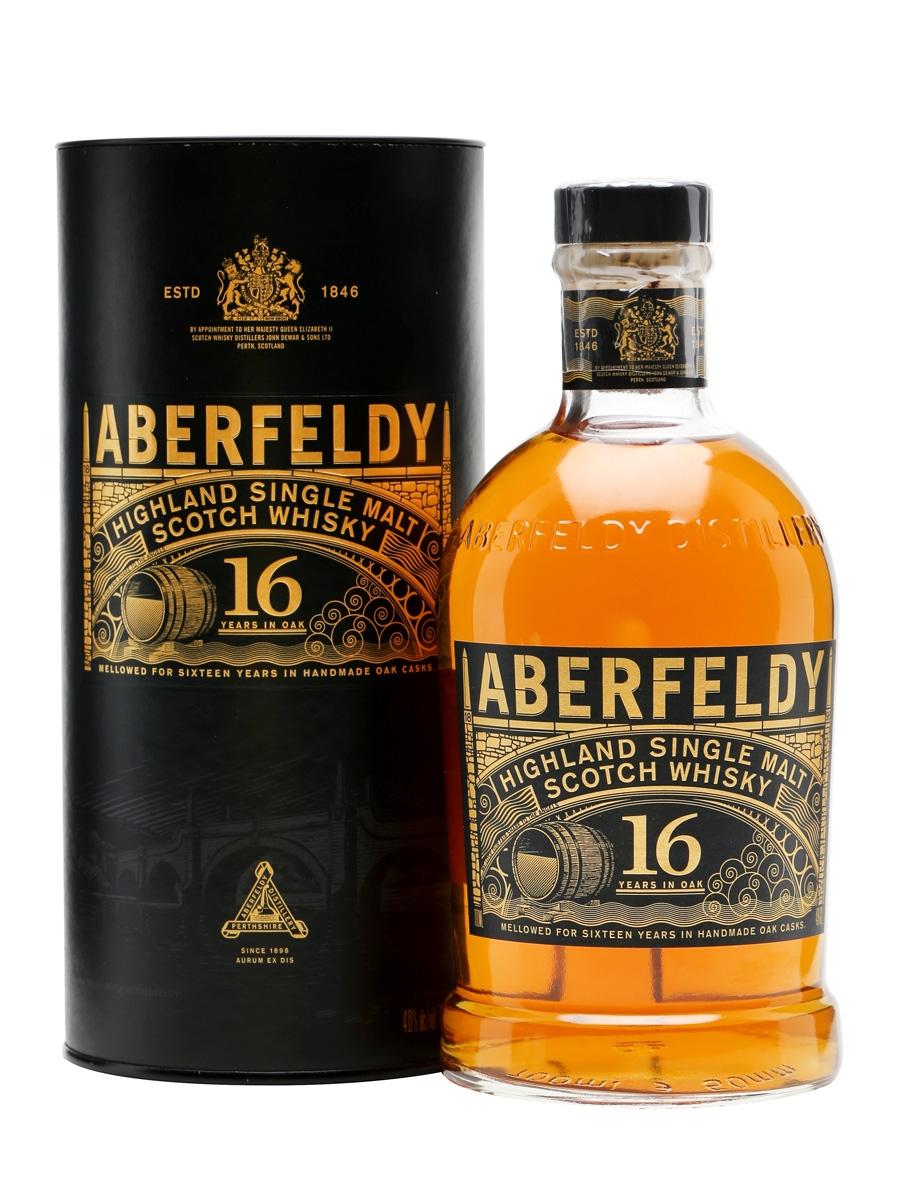 Aberfeldy 16 jr Single malt 70cl 40%