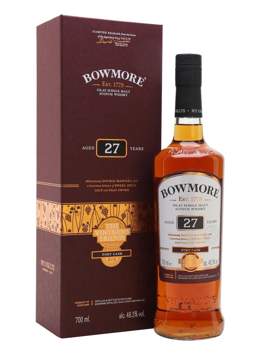 Bowmore 27yr Vintner`s Trilogy  Port Cask 48,3%