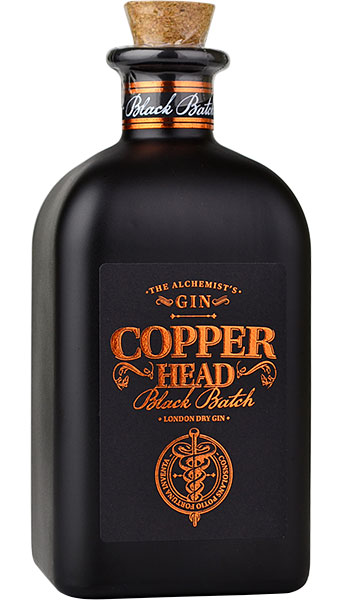 Copperhead Black Batch Gin  50cl 42%