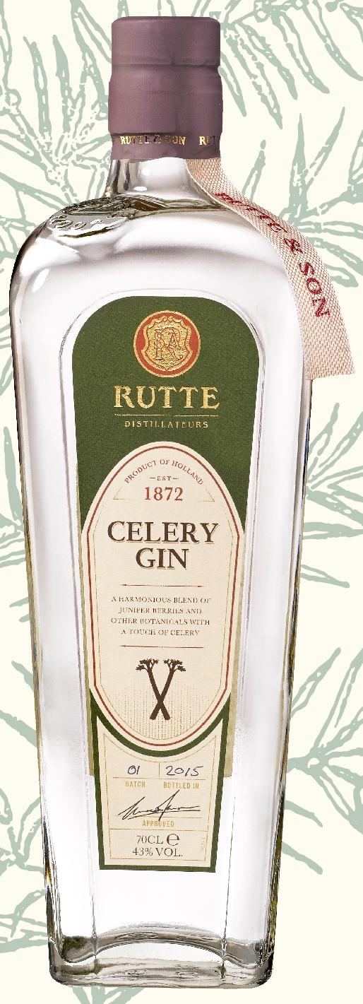 Rutte Celery Gin  70cl  43%