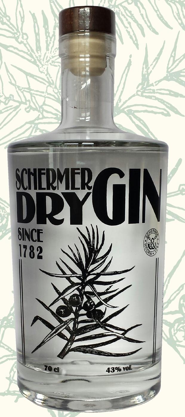 Schermer Dry Gin  70cl  43%