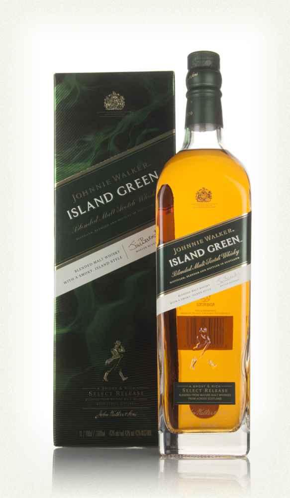 Johnnie Walker Island Green Label  Liter, 43%