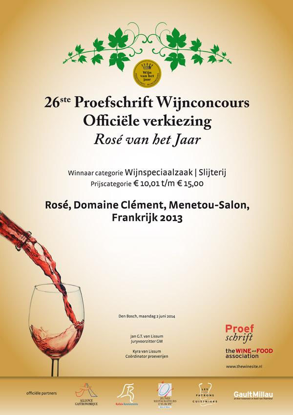 Domaine cl ment slijterij t fust whisky wijn speciaalzaak for Menetou salon clement