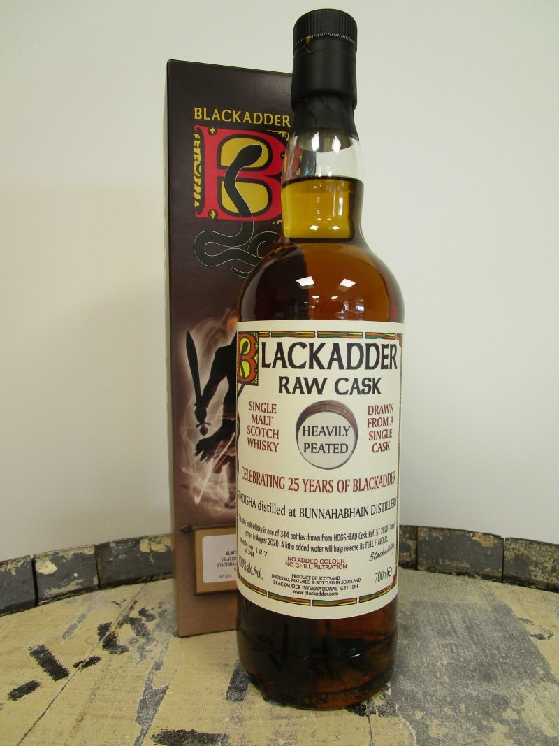BlackAdder Bunnahabhain Staoisha  60,9% -70cl