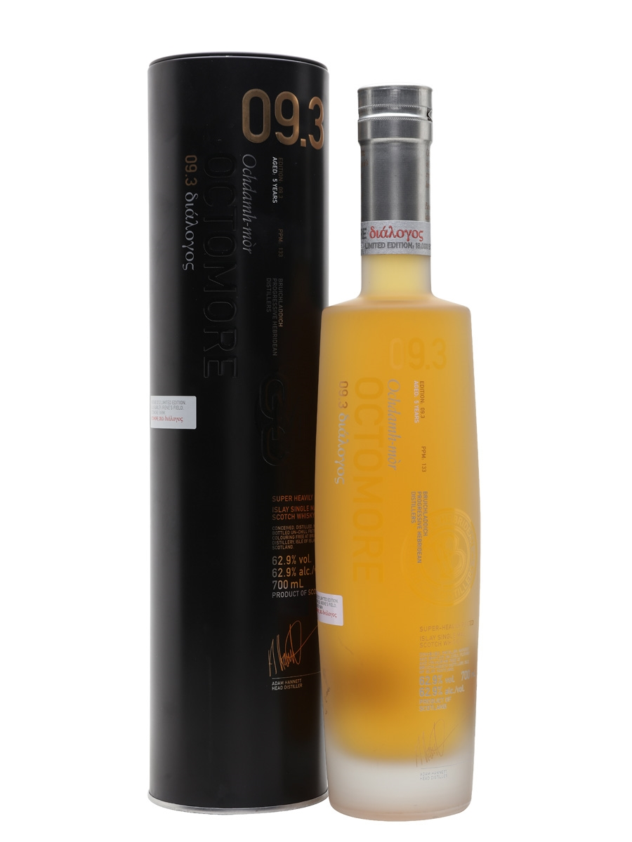 Bruichladdich Octomore 09.3  Islay barley   62.9%  70cl