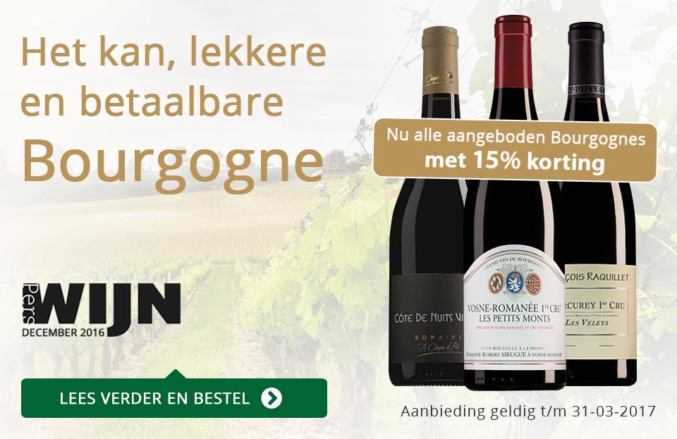 Het kan, lekkere en betaalbare Bourgogne - goud/zwart