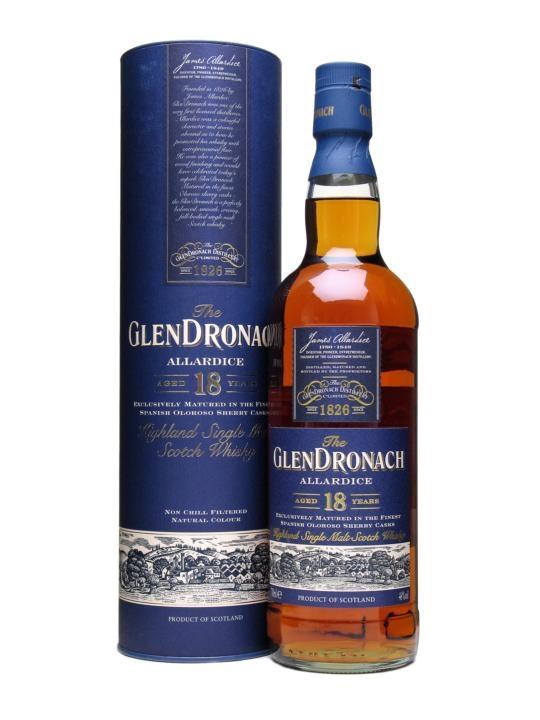 Glendronach 18yr- Allardice 46% 70cl