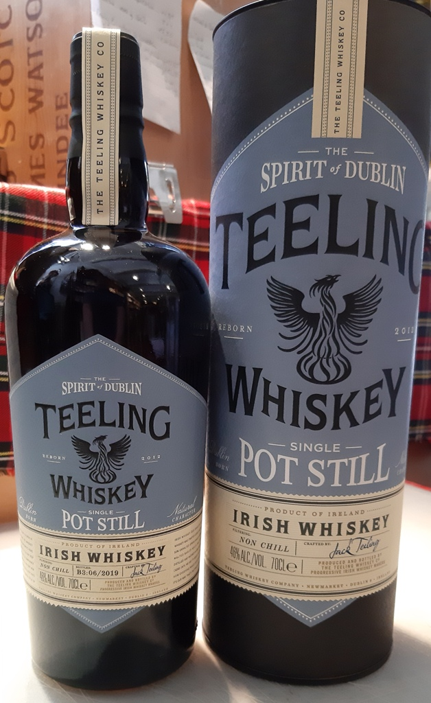 Teeling Single Pot Still batch 3 -70cl  46%