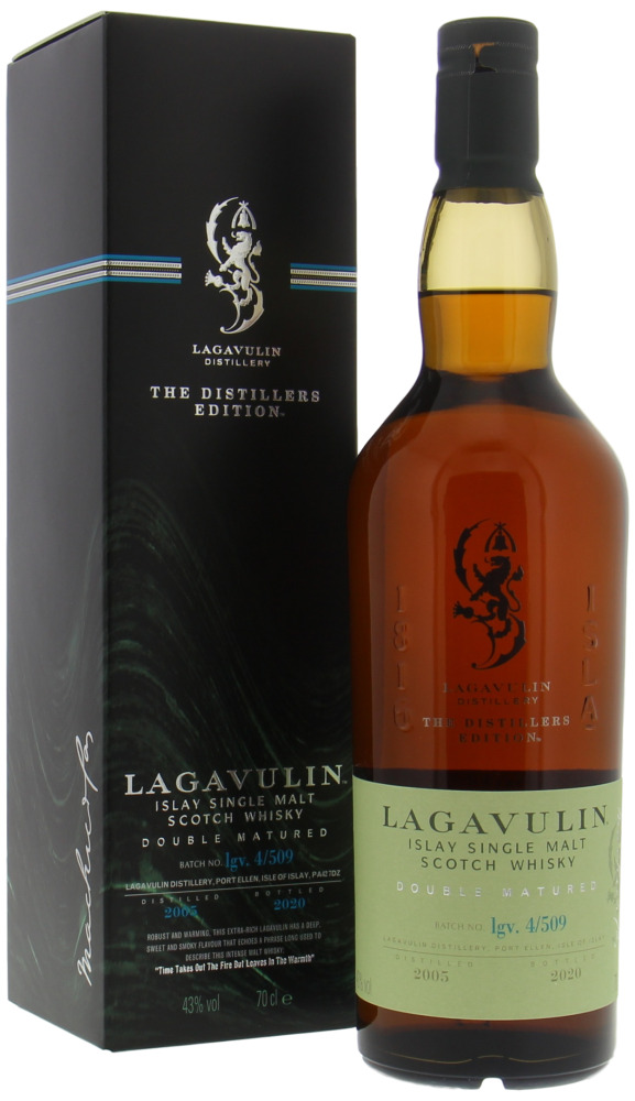 Lagavulin Distiller Edition  Islay Single malt -70cl  -43%