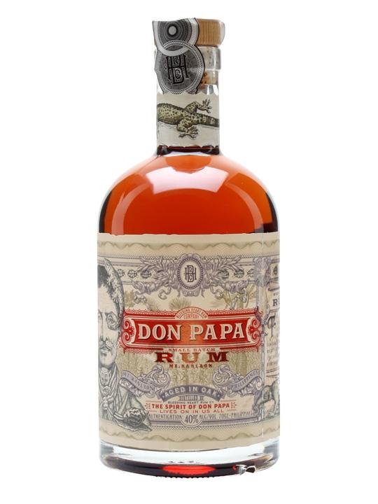 Don Papa rum  70cl 40%