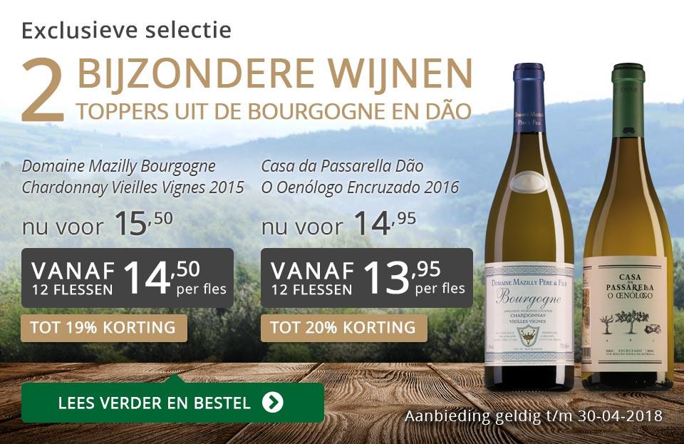 Exclusieve wijnen april 2018- grijs/goud